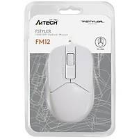 A4 Tech FM12 Mouse USB Beyaz 1000DPI