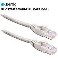 S-Link SL-CAT608 Cat6 0.50mm 305 Metre Kablo