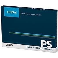 Crucial P5 2TB SSD m.2 NVMe PCIe CT2000P5SSD8
