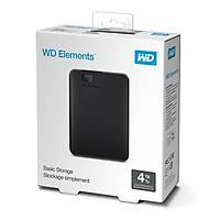 WD 2.5 4TB Elements Siyah USB3.0 WDBU6Y0040BBK