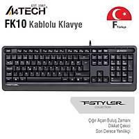 A4 Tech FK10 F USB Kablolu MM Klavye Gri