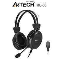 A4 Tech HU-30 Mikrofonlu Kulaklýk USB