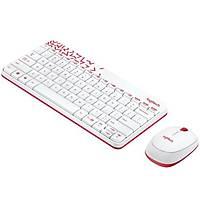 Logitech MK240 Klavye Set Beyaz/Kırmızı 920-008214