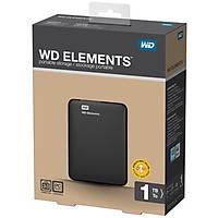 WD 2.5 1TB Elements Siyah USB3.0 WDBUZG0010BBK
