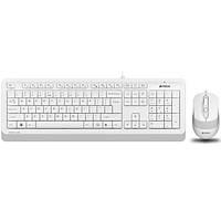 A4 Tech F1010 MM Klavye Mouse Set / Beyaz / USB