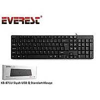 Everest KB-817U Siyah USB Q Standart Klavye