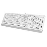 A4 Tech FK10 Q Kablolu MM Klavye Beyaz USB