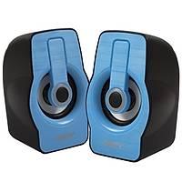 Snopy SN-X23 RGB Iþýklý 3W*2 Siyah/Mavi USB Speake