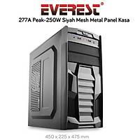 Everest 277A Peak:250W Mesh Metal Panel Siyah Kasa