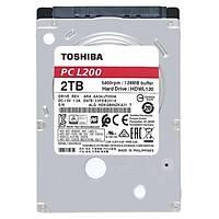 Toshiba 2.5 2TB L200 128MB 5400RPM HDWL120UZSVA