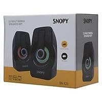 Snopy SN-X23 RGB Iþýklý 3W*2 Siyah USB Speaker