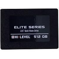 HI-LEVEL 512GB Elite Ssd  Disk  HLV-SSD30ELT/512G