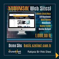 EZELNET BASIC KURUMSAL WEB TASARIM  YÖNETİM VE YAYINLAMA PAKETİ