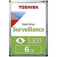 Toshiba 3,5 S300 6TB 256MB 5400RPM HDWT860UZSVA