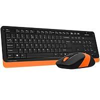 A4 Tech FG1010 Q Kablosuz MM Klavye Mouse Turuncu