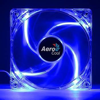 Aerocool AE-CFPL120BL 12 cm Mavi Ledli Pwn 4 Pin Kasa Faný
