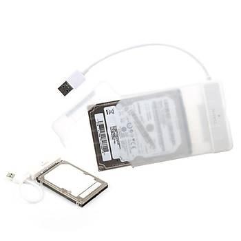 Dark DK-AC-DSE24U3 StoreX E24 2.5 inc SATA USB 3.0 Þeffaf Harici Harddisk Kutusu