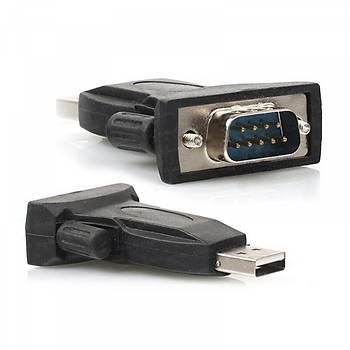 Dark DK-AC-USB2RS232 USB 2.0 to RS232 9 Pin Erkek-Erkek Dönüþtürücü Adaptör