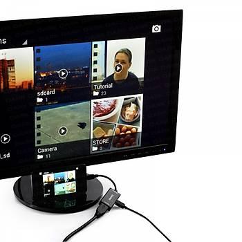 Dark DK-HD-AMHLXHDMI mini DISPLAY PORT to HDMI Dönüştürücü Beyaz Adaptör