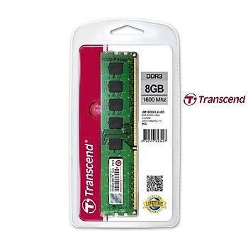 Transcend JM1600KLH-8G 8 GB DDR3 1600MHZ CL11 Bilgisayar Bellek