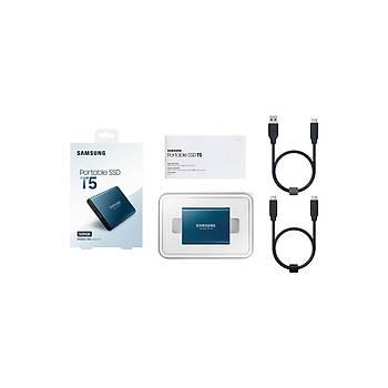 Samsung MU-PA500B/WW 500 GB T5 Mýný USB 3.1 Gen 2 Harici SSD Harddisk