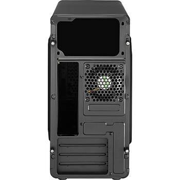 Aerocool AE-QS183A QS183 Advanced PSU YOK QS183 Siyah micro ATX Bilgisayar Kasasý
