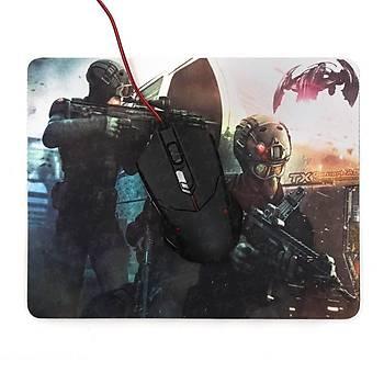 Tx TXACMPAD041 Assault Desenli 280x220x3mm Oyuncu Mousepad