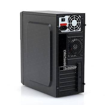 Tx TXCHK7P400 400W K7 2xUSB 3.0 8cm Egzoz Fanlý Mid Tower Siyah Kasa