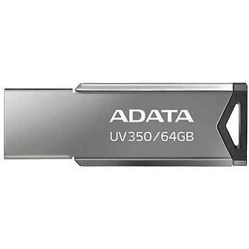 Adata AUV350-64G-RBK 64 GB UV350 USB 3.2 Gümüþ USB Flash Bellek