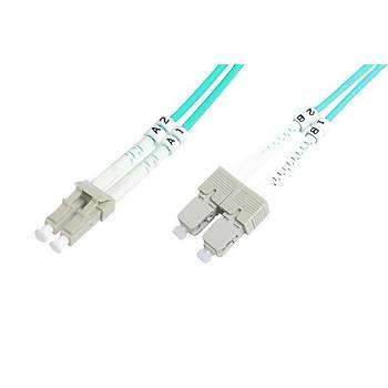 Beek BC-FO-5LCSC-05/3 5 Mt LC-SC 50/125 OM3 Multimode Duplex Patch Cord Kablo
