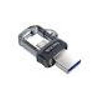 Sandisk SDDD3-032G-G46 32 GB USB Dual M3.0 Siyah USB 3.1 Flash Bellek