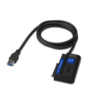 Digitus DA-70326 USB 3.0 to SATA3 SSD Güç Adaptörlü Dönüþtürücü Adaptör