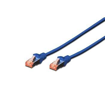 Beek BC-S6050B 5 Mt CAT6 AWG26 S/FTP Lsoh Mavi Patch Cord Kablo