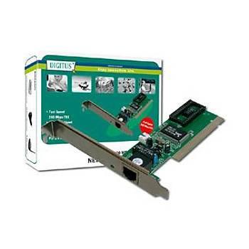 Digitus DN-1001J 10/100 Mbps Fast Ethernet PCI Ethernet Kartý