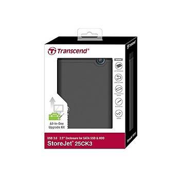 Transcend TS0GSJ25CK3 Storejet 25CK3 USB 3.0 2.5 inch Disk Kutusu