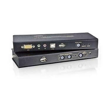 Aten CE800B 250 Mt VGA to CAT USB 1024x768 Keyboard Mouse ESD VGA Mesafe Uzatma Cihazý