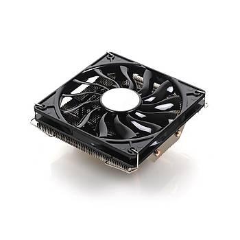 Akasa AK-CC4016EP01 Nero LX2 Intel Amd 12cm Fanlý Ýþlemci Soðutucusu