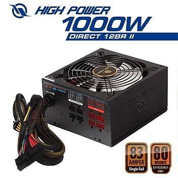 High Power HPL-1000BR-F14C 1000W Direct12 80+ Bronze 13.5cm Power Supply