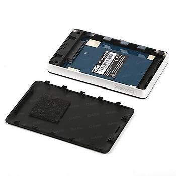 Dark DK-AC-DSE27 StoreX E27 2.5 inch SATA USB 3.0 256 Bit AES Þifreli Harici Disk Kutusu