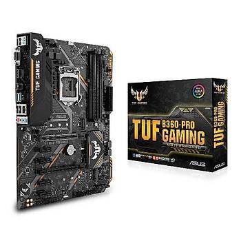 Asus Tuf B360-Pro Gamýng Sc-1151 B360 Ddr4 2666Mhz M2 Int Anakart