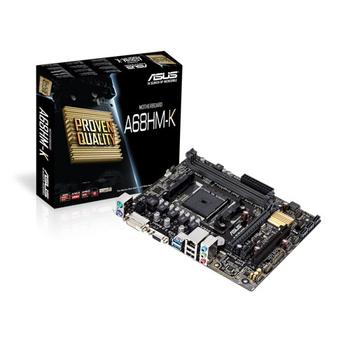Asus A68HM-K SC-Fm2+ A68H DDR3 2400Mhz Sata mATX Amd Anakart