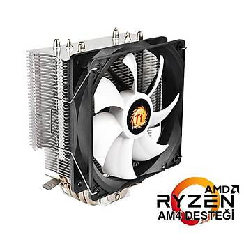 Thermaltake CL-P039-AL12BL-A Contact Sýlent Intel/Amd Ýþlemci Fan