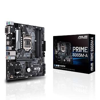 Asus PRIME B365M-A Sc-1151 B365 DDR4 2666Mhz M2 mATX Intel Anakart