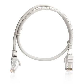 Tx TX-CB-NT5U100G 1 Mt CAT5E Cca Solid UTP Gri Patch Cord Kablo