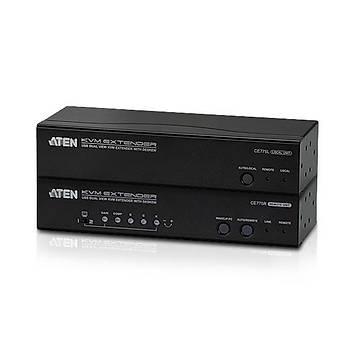 Aten CE775 300 Mt VGA to CAT USB Dual Keyborad Mouse Ses 1280x1024 VGA Mesafe Uzatma Cihazý