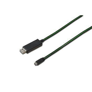 Digitus DB-300128-010-S 0.90 Mt USB 2.0 to micro USB Erkek-Erkek AWG28 Þarj Ýçin USB Kablosu