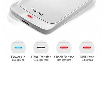 Adata AHV320-2TU31-CWH 2 TB HV320 2.5 inch USB 3.2 Beyaz Harici Harddisk