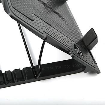 Tx TXACNBERGST Ergostand 9-17 inch 14cm Mavi Led Fan 5X Yüksek Ayarlý 2xUSB Notebook Soðutucu