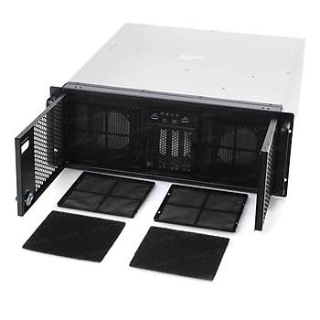 Dark DKCHSR4U01 PSU YOK Servernet 4U 2x8cm Fan 12x3.5 inch HDD Yuvalý Server Kasa