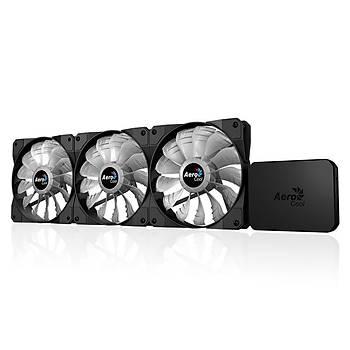Aerocool AE-P7F12-PRO P7-F12 Pro 3x12 cm RGB Fan + RGB Kontrolcü Fan Hub